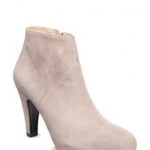 Gardenia Short Boot With Heel And Zip