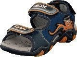 Geox B Sandal Strike Navy/Orange