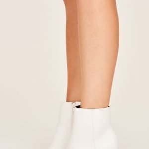 Gina Tricot Karla High Heel Boots Kengät Valkoinen