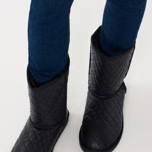 Gina Tricot Lova Boots Kengät Musta