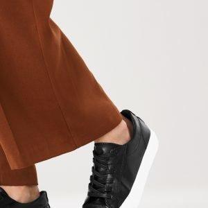 Gina Tricot Nella Platform Sneakers Tennarit Musta