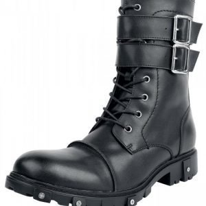 Gothicana by EMP Strapped Leather Boot Varsikengät