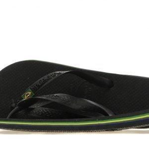 Havaianas Brazil Flip Flops Musta