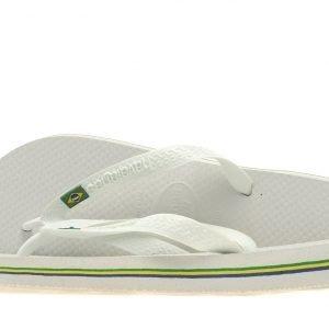 Havaianas Brazil Flip Flops Valkoinen
