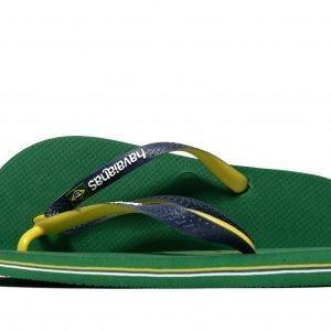 Havaianas Brazil Mix Flip Flops Vihreä