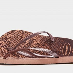 Havaianas Slim Animal Print Sandaalit Rose