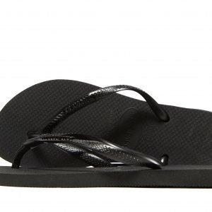 Havaianas Slim Metallic Sandaalit Musta