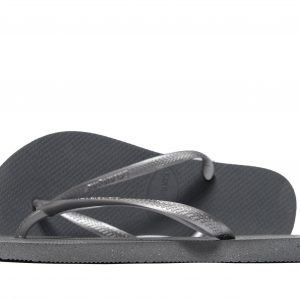 Havaianas Slim Steel Sandaalit Steel Grey