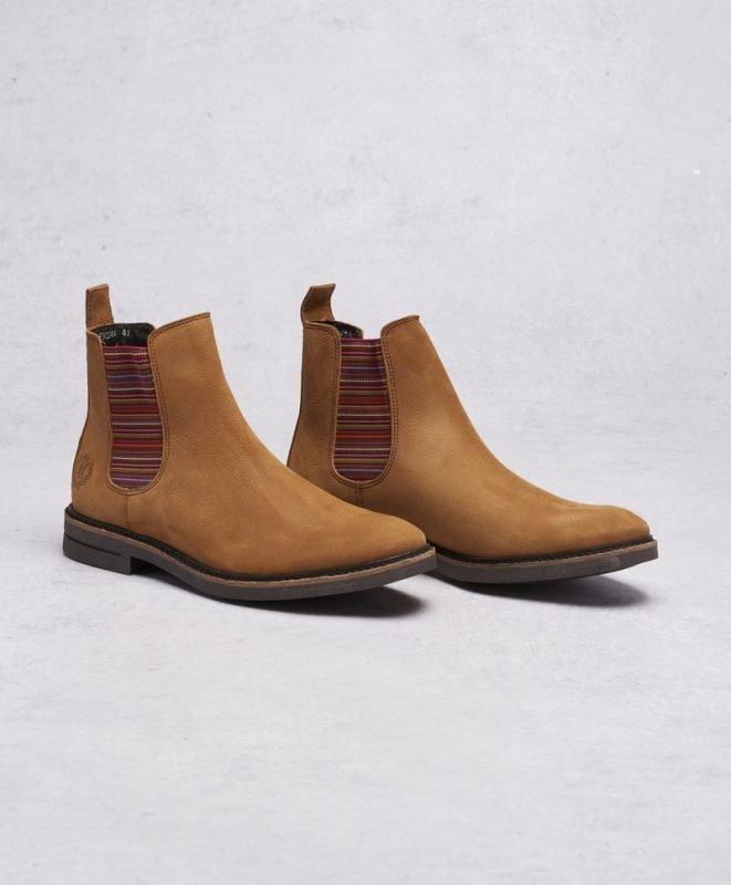 Henri Lloyd Graham Chelsea Boot Camel