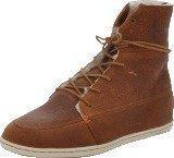 Hub Footwear Song Leather/Wool Brown