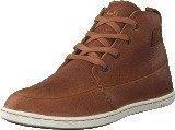 Hub Footwear Subway Leather/Leather Brown