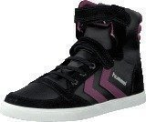 Hummel Hummel Sl Stadil Elastic Jr Hi Black/Purple Potion