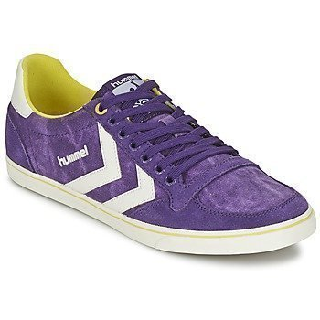 Hummel SLIMMER STADIL WASHED LOW matalavartiset tennarit