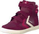 Hummel Stadil Jr Leather High Purple Potion