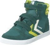 Hummel Stadil leather junior high Silver pine