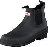 Hunter Men's Original Chelsea Black Black