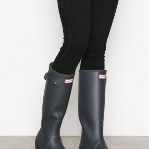 Hunter Womens Orig Tall Kumisaappaat Dark Slate