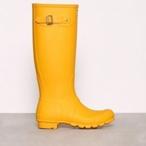 Hunter Womens Orig Tall Kumisaappaat Keltainen