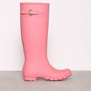 Hunter Womens Orig Tall Kumisaappaat Vaaleanpunainen