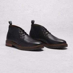 Hush Puppies Dan Desert Black