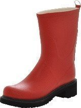 Ilse Jacobsen 3/4 Rubberboot Red 300