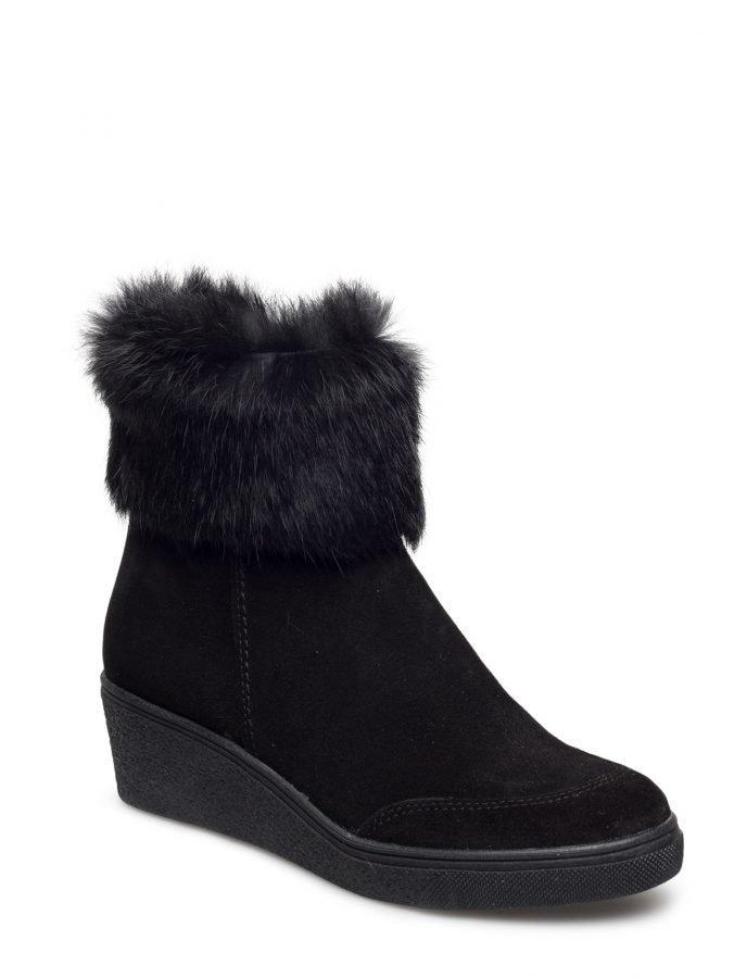Ilse Jacobsen Ankle Boot W./Fur