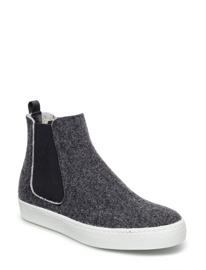 Ilse Jacobsen High Top Felt Sneaker