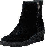 Ilse Jacobsen Platform Ancle Boots Black