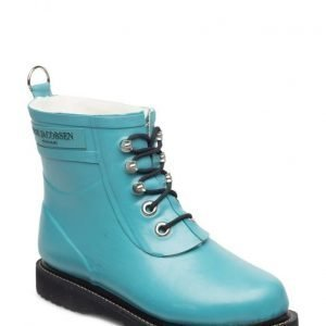 Ilse Jacobsen Rain Boot Ankle Classic With Laces