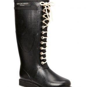 Ilse Jacobsen Rain Boot Long Classic With Laces