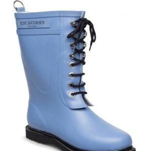 Ilse Jacobsen Rain Boot Mid Calf Classic With Laces