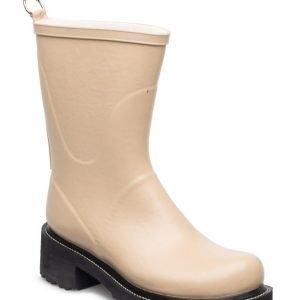 Ilse Jacobsen Rain Boots Mid Calf With High Heel