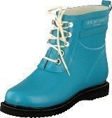 Ilse Jacobsen Short Rubber Boot Turquoise