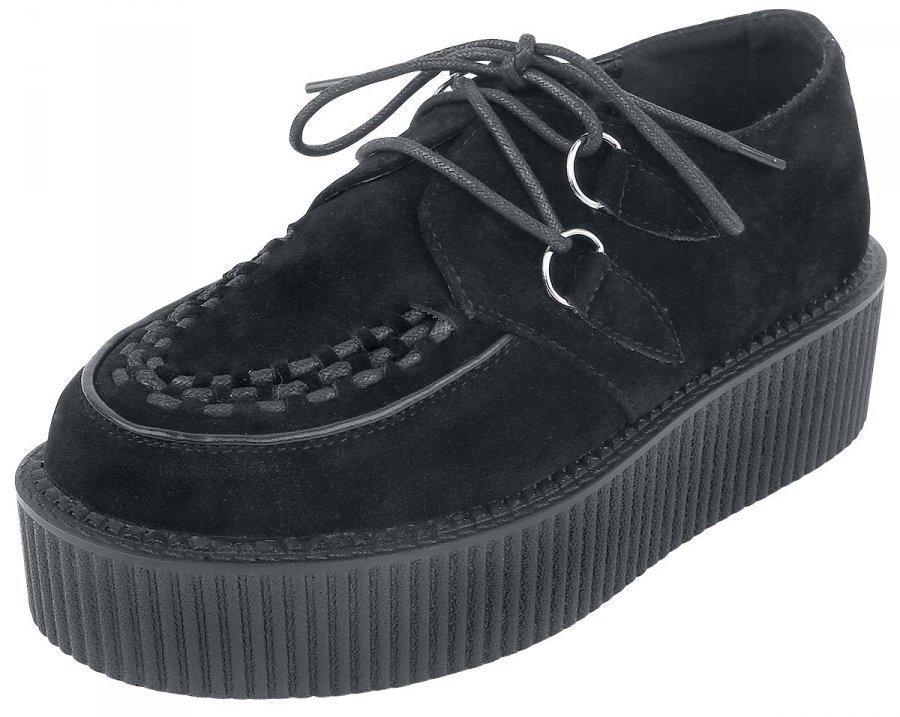 Industrial Punk Creepers Black Creepers-kengät