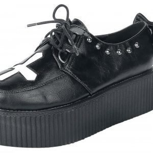 Industrial Punk Creepers Cross Creepers-kengät