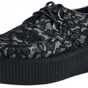 Industrial Punk Gothic Lace Creeper Creepers-kengät