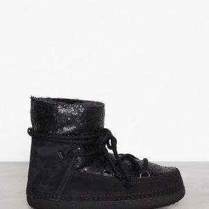 Inuikii Boot Classic Sequin Bootsit Musta