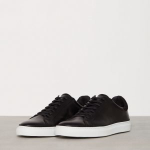 J Lindeberg Sneaker Combo Leather Tennarit Musta