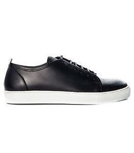 J.Lindeberg Lace Sneaker Combo Leather Black