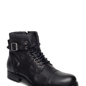 Jack & Jones Jfwalbany Leather Boot Black