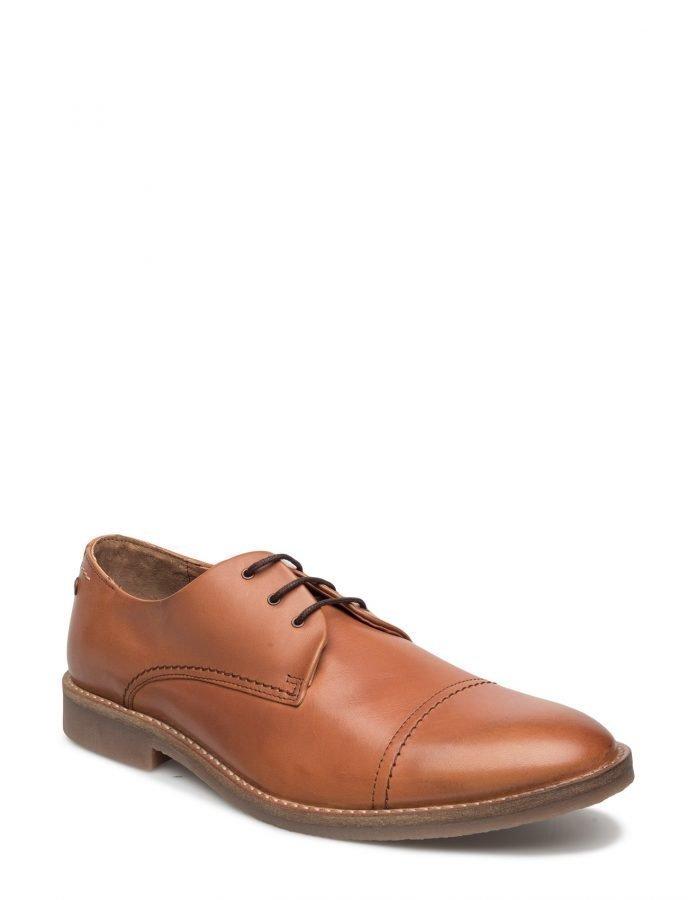 Jack & Jones Jfwbilly Leather Shoe Cognac