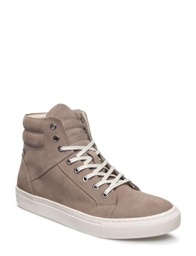 Jack & Jones Jfwkenton Nubuck Sneaker Taupe Gray