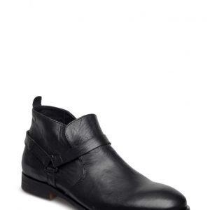 Jack & Jones Jfwmanson Leather Short Boot Black