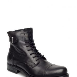 Jack & Jones Jfwsiti Leather Boot Anthracite