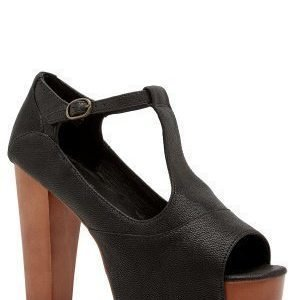 Jeffrey Campbell Foxy WD Shoes 020 Black