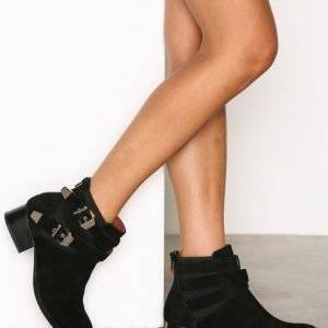 Jeffrey Campbell Smother Bootsit Musta
