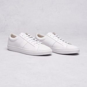 Jim Rickey Ace Low Perforated White