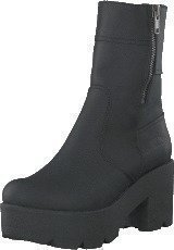 Johnny Bulls 5066 Mid Platform Boot Black Old Silver