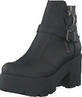 Johnny Bulls 5074 Platform Boot Black Old Silver