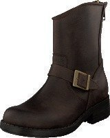 Johnny Bulls Low Boot Zip Back Brown/Gold